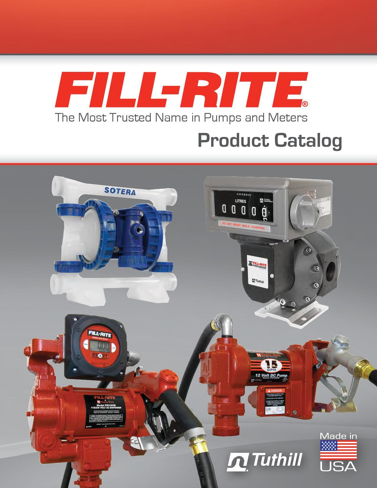 Fill Rite - Catálogo